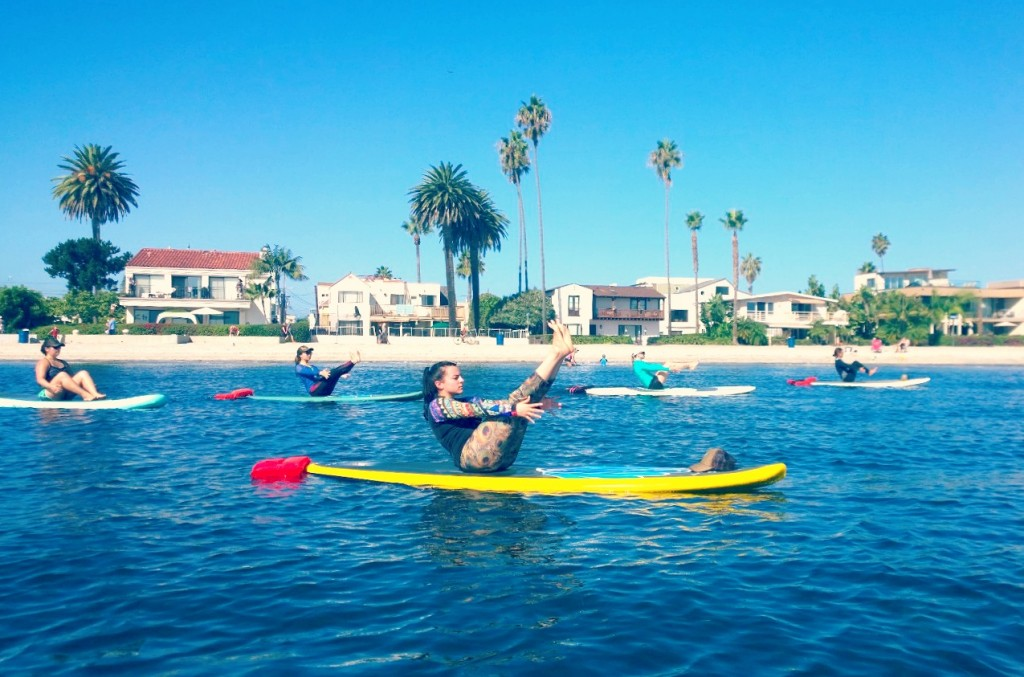 sup yoga teacher training san diego