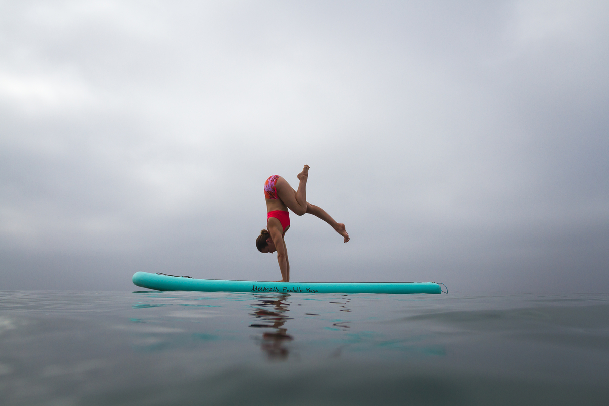 Mermair Inflatable Stand Up Paddle Yoga Board Bliss